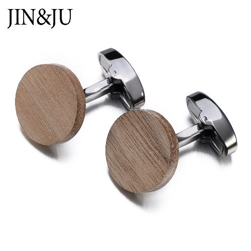 Hot Sale Wooden Cufflinks, Gifts Men Jewelry Brand Jewelry with high quality standard