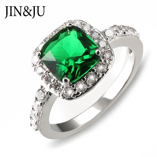 Classic Emerald Stone Rings for Women with High quality