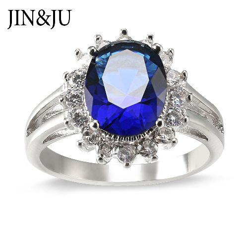 Classic Sapphire Ring Princess Diana Ring