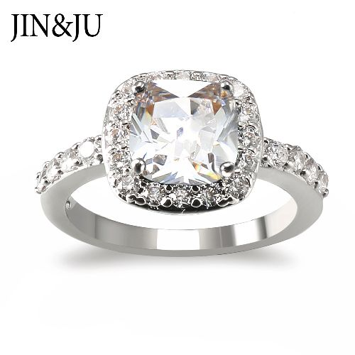 Fashion Rhodium plated Ring for Women in Classic Style