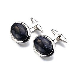 Newest Luxury Men Cuff links with high Quality Standard Gemstones for Men Jewelry