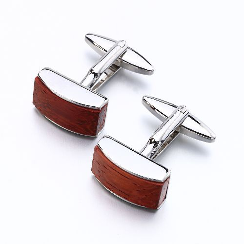 New Rose wood Cufflinks for Mens business style fashion Cuff link French Shirt Button